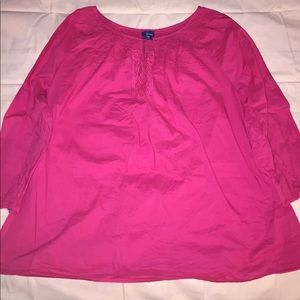 Bright pink long sleeve